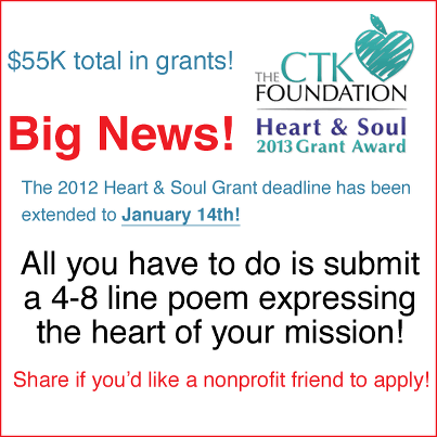 CTK Foundation deadline extension
