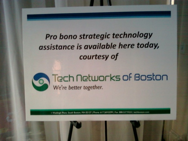 Data Day 2013:  I'll be offering pro bono strategic tech consultations