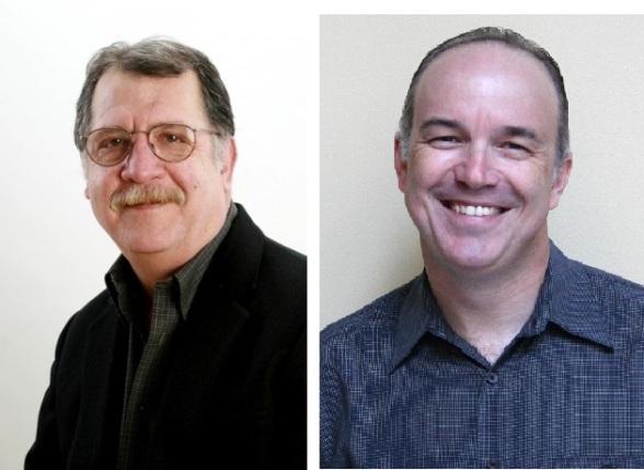 Two poster boys of nonprofit data sanity: Bob Penna (l) and Steve Pratt (r).